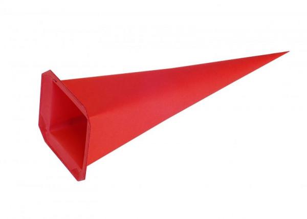 Einzelzacke I7 - Viereck, rot