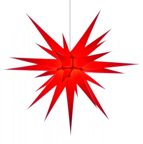 Herrnhuter Adventsstern I8, 80 cm Rot