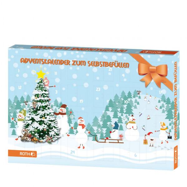 Wandkalender für Kinder (Adventskalender) leer zum Befüllen
